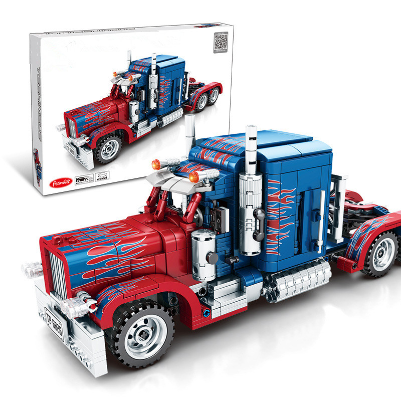 Ceative Play Building Blocks Truck Deformation 849PCS Set Kids 6+ Boys Girls Gifts