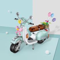 Ceative Play Mini Building Blocks Motor Set Toys 673PCS For Kids 6+ Boys Girls Gifts