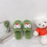 Toddlers Kids Sesame Street Big Eyes Warm Winter Home House Slippers