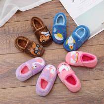 Toddlers Kids Car Rocket Swan Warm Winter Home House Slippers Shoes