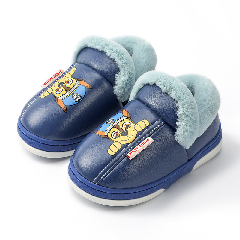 Toddlers Kids PAW Patrol Warm Winter Home House Shoes