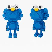 Ceative Play Mini Building Blocks Sesame Street Kaws Toys For Kids 6+ Boys Girls Gifts