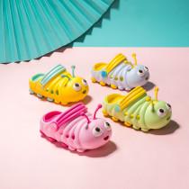 Toddlers Kids 3D Caterpillar Beach Home Summer Slippers Shoes