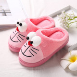 Toddlers Kids Doraemon Warm Winter Home House Slippers