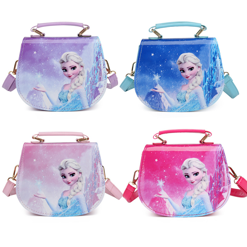 Frozen Fashion Crossbody Star Shoulder Handbag for Toddlers Kids