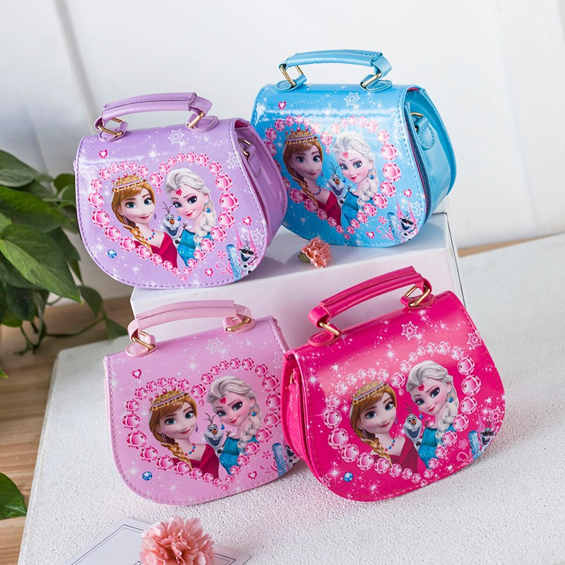 Frozen Fashion Crossbody Shoulder Handbag for Toddlers Kids