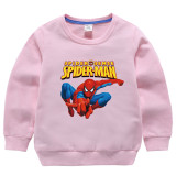 Toddler Kids Boy Print Spider Man Sweatshirts Tops