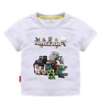 Toddle Boys Print MINECRAFT Cotton T-shirt