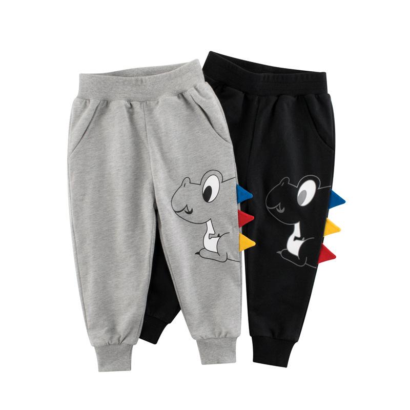 Toddler Kids Boy 3D Cute Dinosaur Pattern Casual Cotton Pants