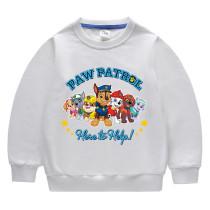 Toddler Kids Boy Cartoon PAW Patrol Dog Slogans Pullover Cotton Sweatshirt Tops