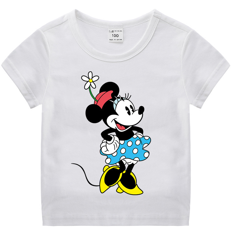 Toddle Kids Girls Minnie Cotton T-shirt Tops
