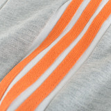 Toddler Kids Boy Pure Color Stripes Casual Cotton Pants
