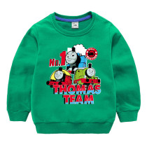 Toddler Kids Boy Thomas and Friends Pullover Cotton Sweatshirt Tops