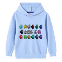 Toddler Kids Boy Among Us Slogans Pullover Hooded Sweatshirt Tops