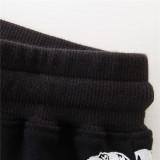 Toddler Kids Boy Black Print Dinosaurs Casual Cotton Black Pants
