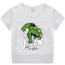 Toddle Boys Print Hulk Cotton T-shirt
