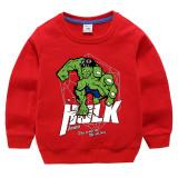 Toddler Kids Boy Cartoon Hulk Slogans Cotton Sweatshirt Top