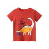 Toddle Kids Boys Print Dinosaurs Cotton T-shirt