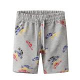 Toddle Boys Print Cars Cotton Drawstring Shorts