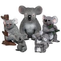 Educational Realistic Koala Animals Figures Playset Toys