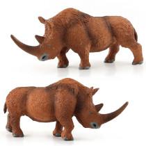 Educational Realistic Simulation Dicerorhinus Animals Figures Playset Toys