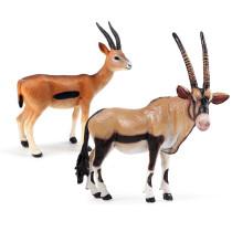 Educational Realistic Antelope Animals Figures Playset Toys