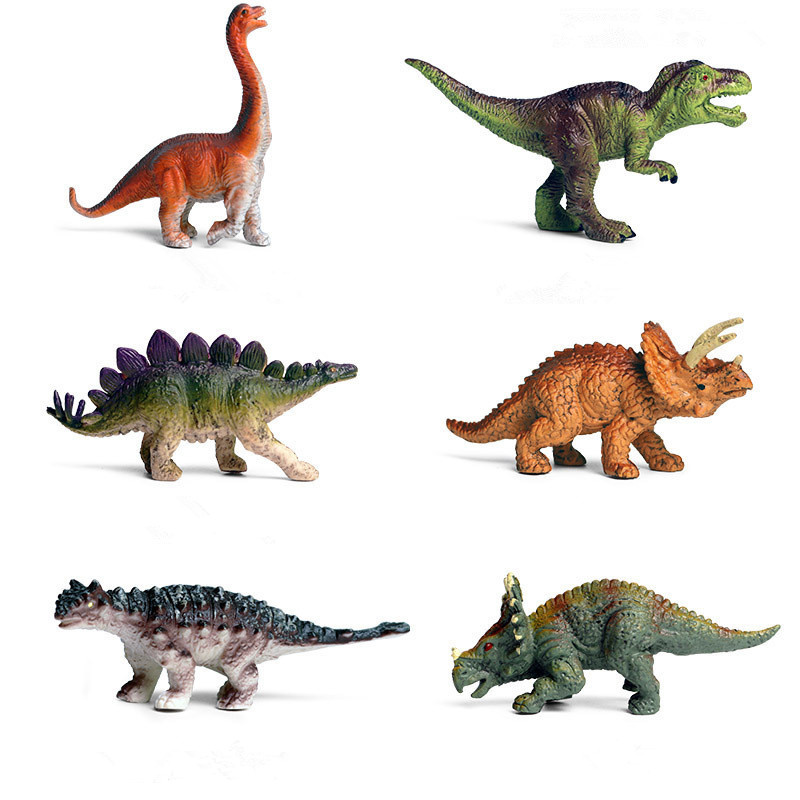 Educational Realistic Dinosaurs Mini Model Sets Figures Playset Toys