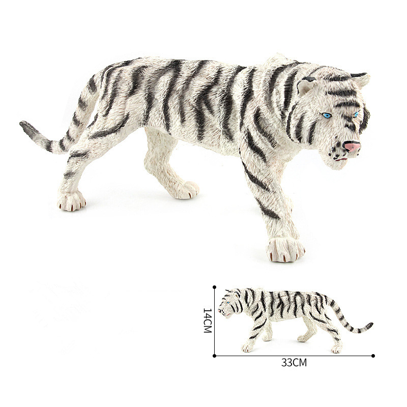 Educational Realistic Tiger Model Wild Animals Figures Playset Toys