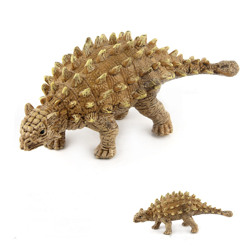 Educational Realistic Simulation Ankylosaurus Dinosaurs Model Figures Playset Toys