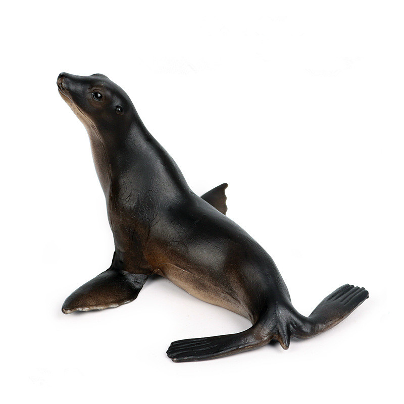 Educational Realistic Ocean Seals Model Figures Playset Toys