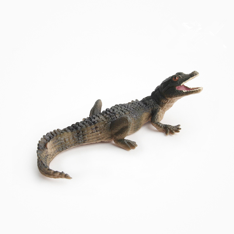 Educational Realistic Crocodile Alligator Figures Playset Toys