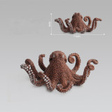 Educational Realistic Octopus Underwater World Marine Life Figures Playset Toys