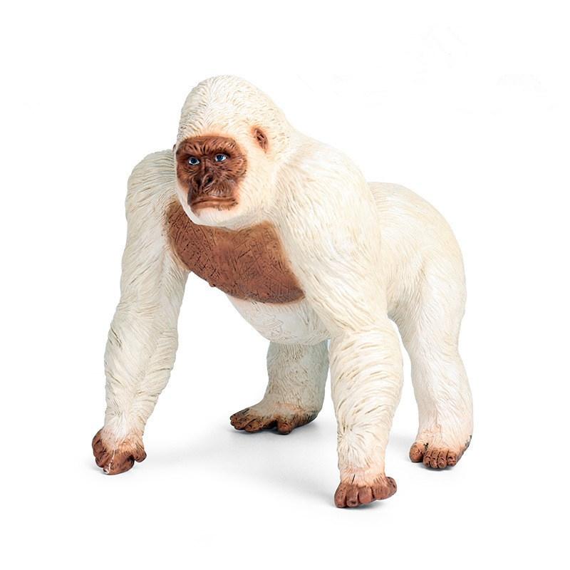 Educational Realistic Gorilla Chimpanzee Wild Animals Figures Playset Toys
