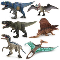 Educational Realistic 6PCS Dinosaurs Animals Model Figures Playset Toys