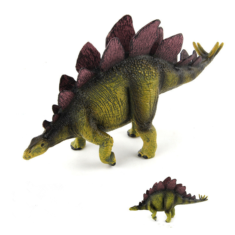 Educational Realistic Simulation Stegosaurus Dinosaurs Model Figures Playset Toys