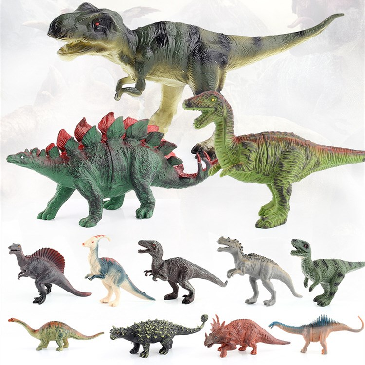 Educational Realistic Jurassic World Dinosaurs 12PCS Model Figures Playset Toys