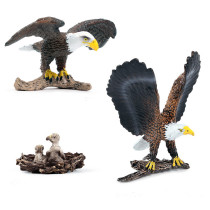 Educational Realistic Eagle Model Figures Playset Toys