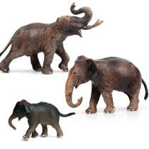 Educational Realistic Elephant Animals Figures Playset Toys