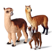 Educational Realistic Grass Mud Horse Animals Figures Playset Toys