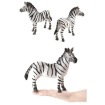 Educational Realistic Zebra Wild Animals Figures Playset Toys