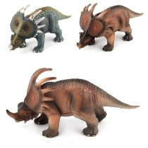 Educational Realistic Simulation Styracosaurus Dinosaur Mode Figures Playset Toys