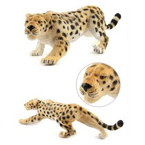 Educational Realistic Leopard Wild Animals Figures Playset Toys