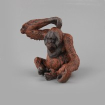 Educational Realistic Simulation Gorilla Orangutan Animals Figures Playset Toys
