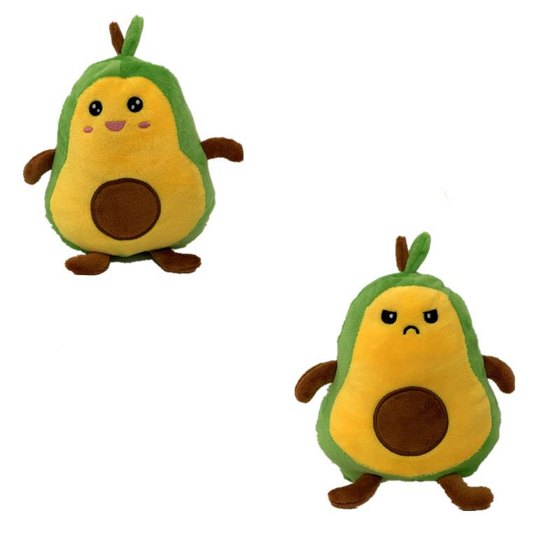 The Original Reversible Avocado Patented Design Soft Stuffed Plush Animal Doll for Kids Gift