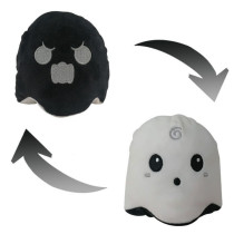 The Original Reversible Ghost Patented Design Soft Stuffed Plush Animal Doll for Kids Gift