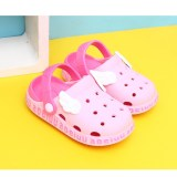 Toddlers Kids Cartoon Cross-border Hole Shoes One-in-one Molding Wing Flat Beach Summer Slippers