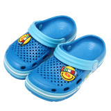 Toddlers Kids Emoji Expression Sunny Hole Shoes Flat Beach Summer Slippers Sandal Shoes