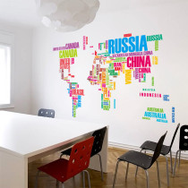 Creative English Slogan Door Room Waterproof Decorative Wall Stickers