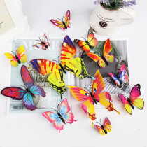 12PCS Single-Deck Butterfly Wall Stickers Door Room Magnetic Decorative