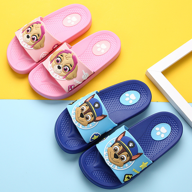 Toddlers Kids PAW Patrol Flat Beach Summer Slippers